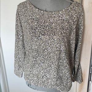 Joie Soft leopard print sweatshirt